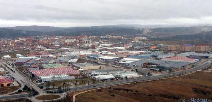 Imagen del polígono industrial Las Casas, en la capital. / SN