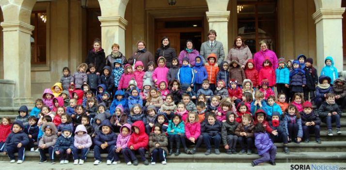 Niños asistentes a una de las sesiones.