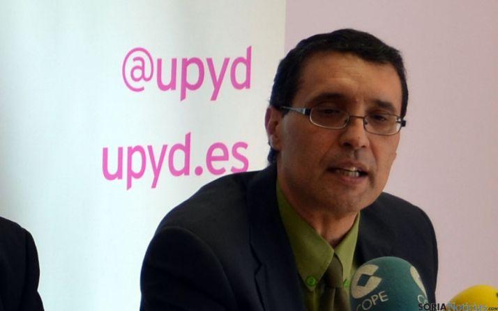 Joaquín de la Cuesta, de UPyD en Soria.