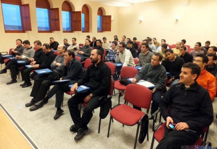 Seminaristas asistentes al encuentro