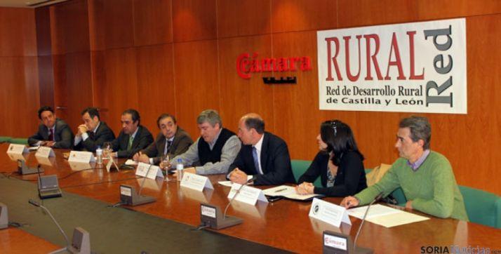 Rueda de prensa de Rural Red en Valladolid
