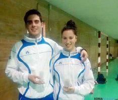 Víctor Ortega y Natalia Sanz, oro en dobles mixtos