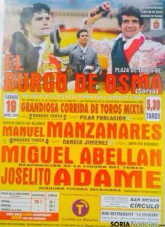 Cartel de El Burgo de Osma