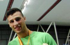 El velocista del CAEP Mario Moure.