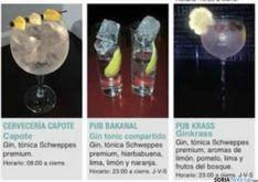 Foto 2 - Guía de las bebidas que se ofrecen en la Semana del Gin&Tonic