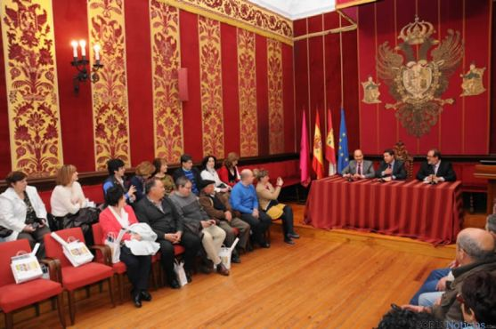 Firma del acuerdo Toledo-Ágreda