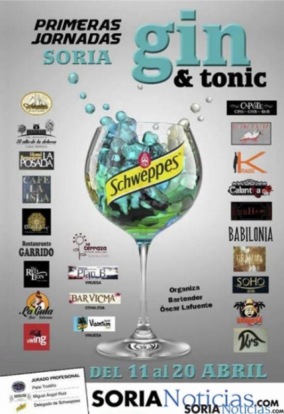 Cartel de las jornadas Gin&Tonic