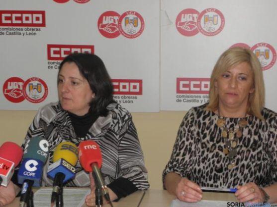 Ana Romero y María José López