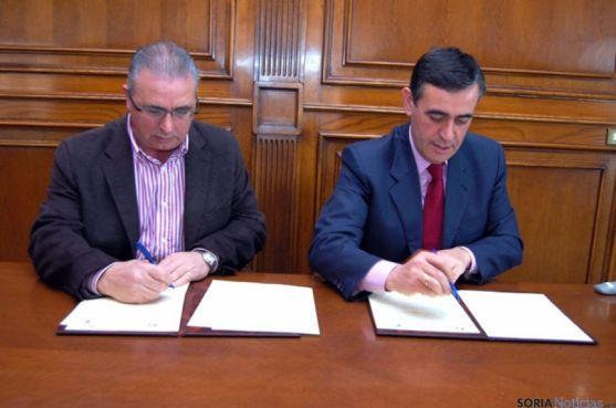 Fidel Soria y Antonio Pardo