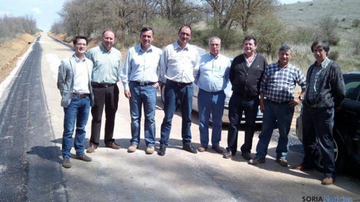 Foto 1 - Finalizadas las obras de la carretera entre Morón de Almazán y Serón de Nágima