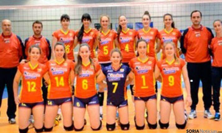 Selección feminina junior de voley