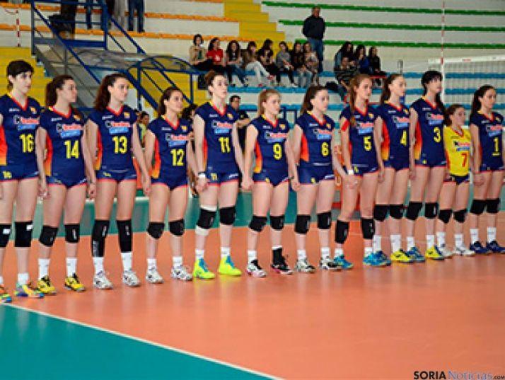 Chicas de la selección junior