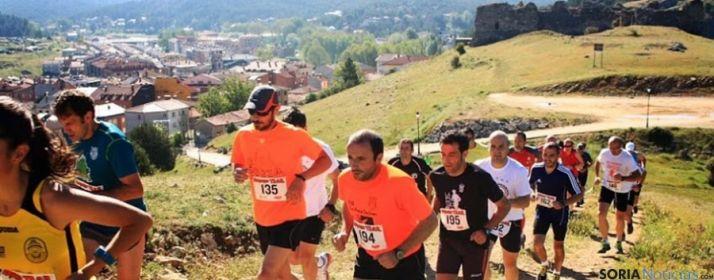 La carrera, en el entorno del castillo de San Leonardo