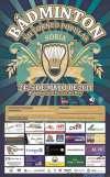 Cartel del XII Torneo Popular de Bádminton