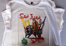 Una de las mil camisetas exclusivas diseñadas para San Juan. / SN