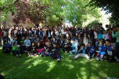 Foto de grupo Juegos Escolares