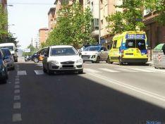 Atropello en la Avenida de Valladolid