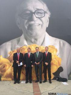 Juan José Mateos visita Colombia