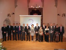 Premiados y representantes de FOES