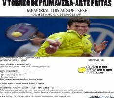 Nueva edición del torneo de tenis.