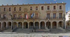Fachada del Ayuntamiento de Soria