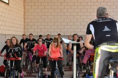 Participantes en el ciclo indoor