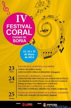 Cartel del Festival de Coral