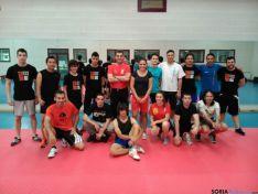 Participantes en el seminario de boxeo