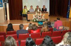 López Represa se dirige a los alumnos