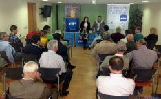 Acto electoral en San Leonardo