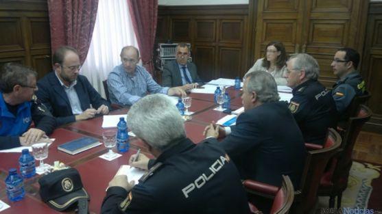 Reunión de coordinación entre policias locales y cuerpos y fuerzas de seguridad del Estado