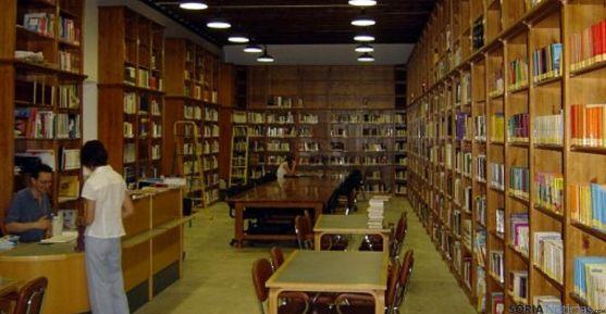 La biblioteca municipal del Burgo de Osma.
