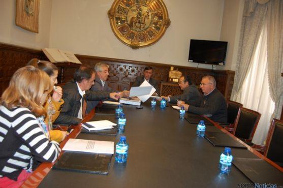 Reunión con los ayuntamientos
