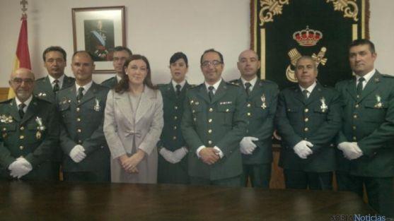 Acto celebración Guardia Civil
