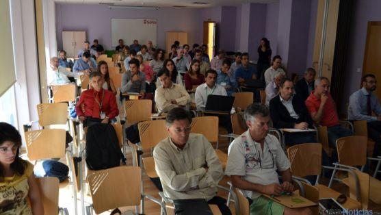 Encuentro sobre microrredes en 2013 en Soria.