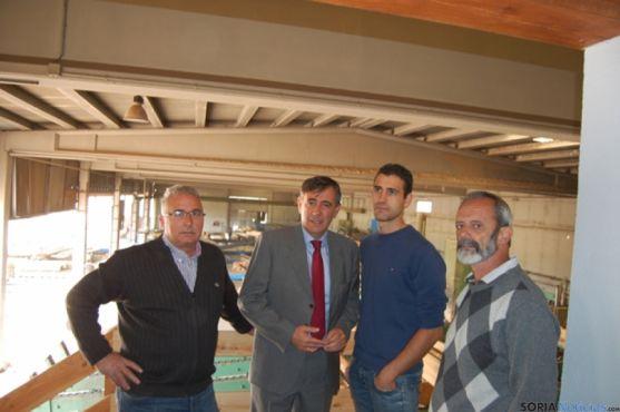 Visita a las empresas de madera