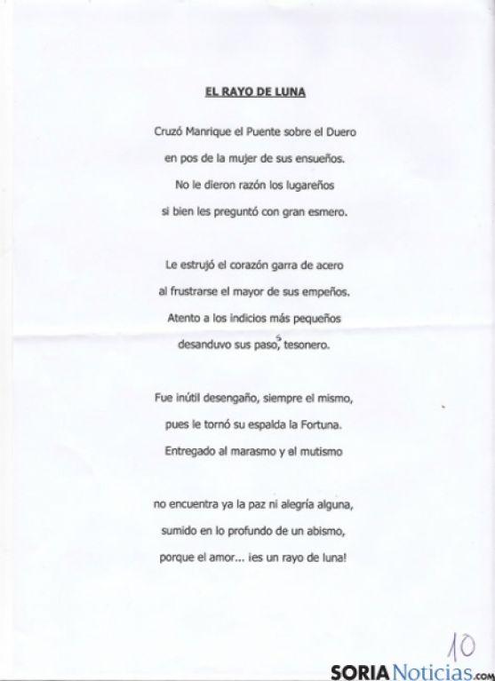 Poema ganador