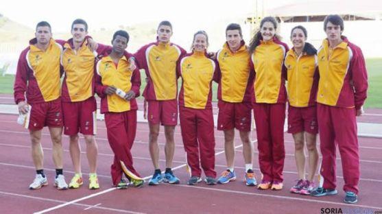 Atletas del CAEP