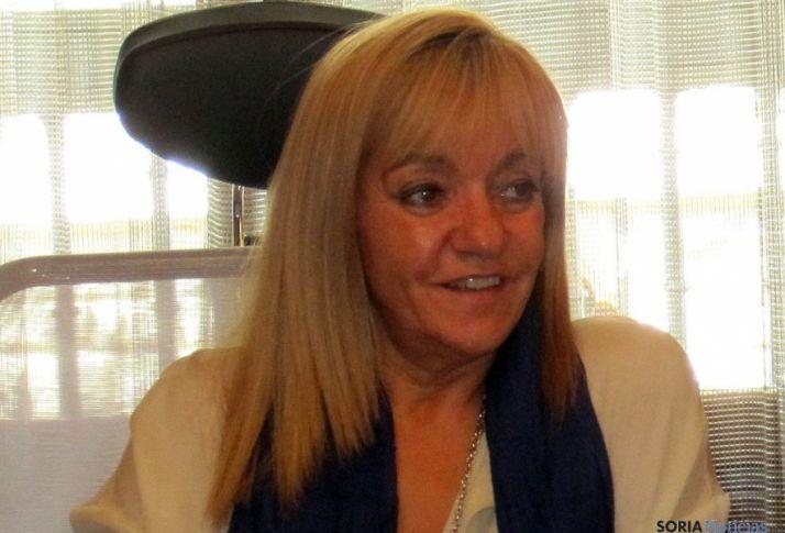 Isabel Carrasco ostentaba también la presidencia de la Diputación de León.