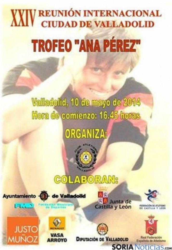 Cartel Ciudad de Valladolid Atletismo