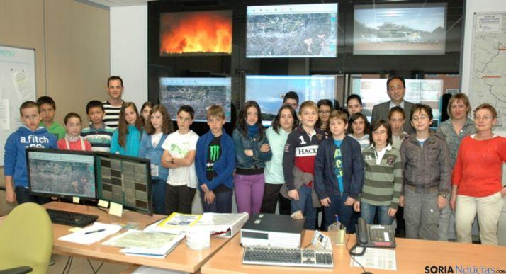 Visita del CEIP Numancia