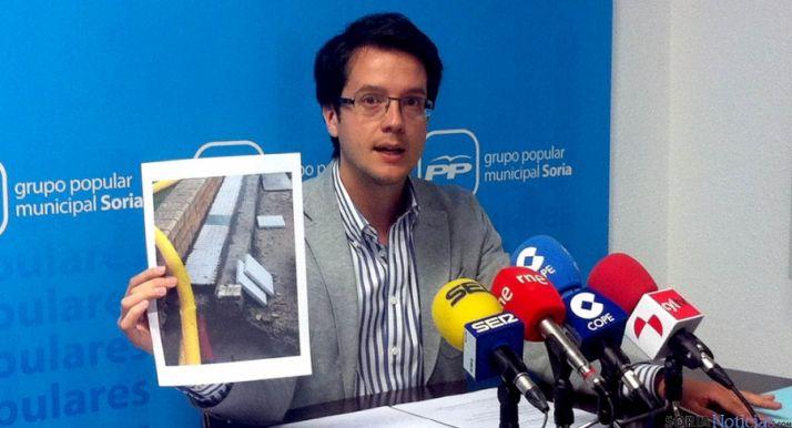 Tomás Cabezón, este jueves en rueda de prensa.