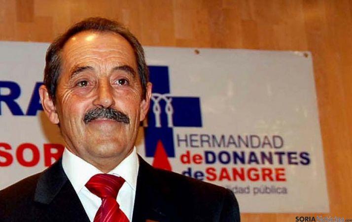 José Luis Molina, presidente de la Hermandad.