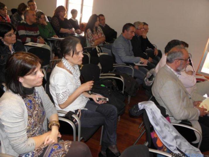 Público en el acto