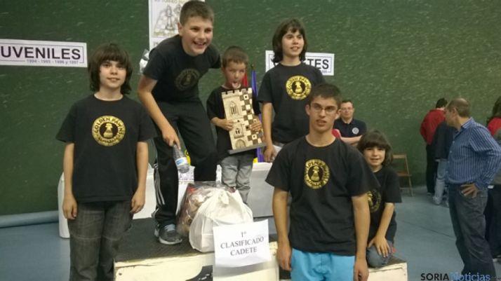 Ajedrecistas en Palencia