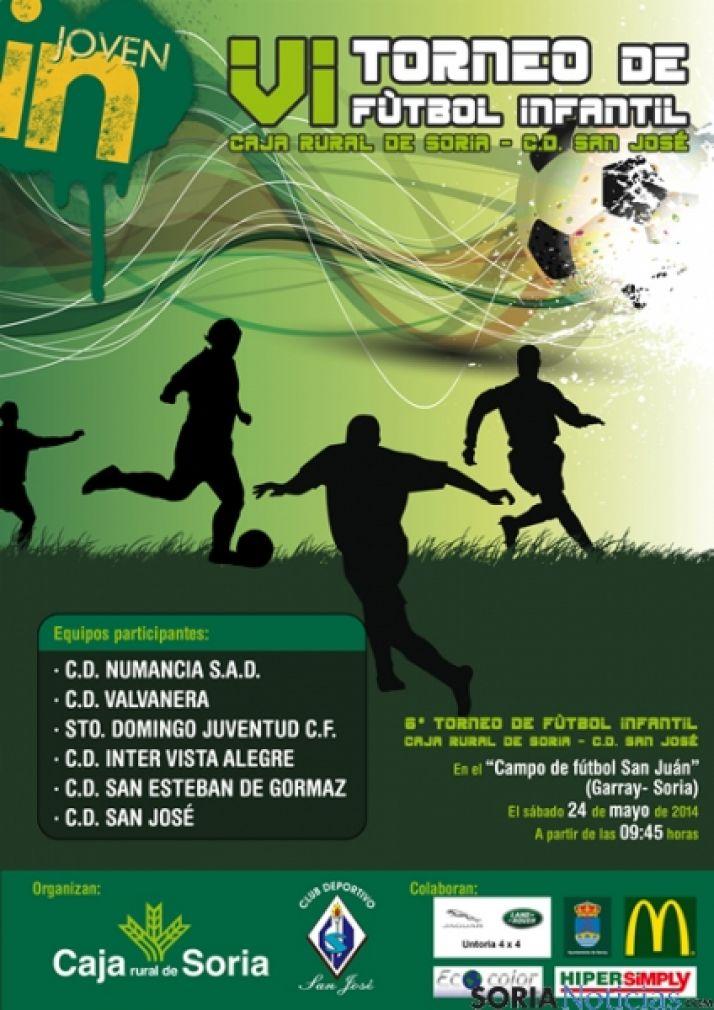 Cartel del Trofeo Caja Rural de Soria