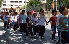 Los pequeños de Escolapias celebran el Domingo de Calderas.