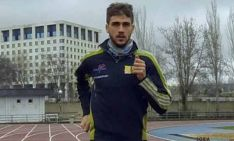 Javier Abad,  atleta del CAEP.