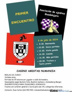 Cartel provisional del torneo.