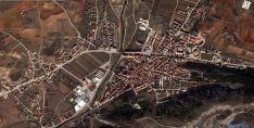 Vista aérea del Burgo y Osma. /  GM